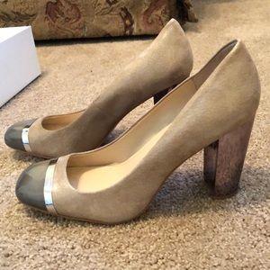 Calvin Klein Blaine Mirror Heels. Size 9.5. NWT